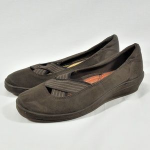 Brown Slip On Shoes Sz 7